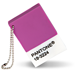 PANTONE Chip Drive in Radiant Orchid