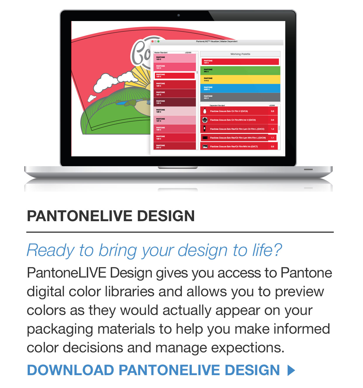パントンについて color systems graphic design workflow pantone