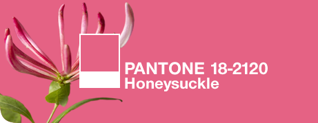 Pantone Color of the Year 2011: Honeysuckle