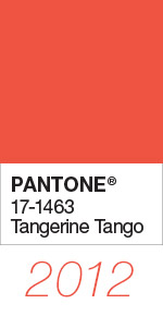 Pantone Color of the Year 2012 Tangerine Tango 17-1463