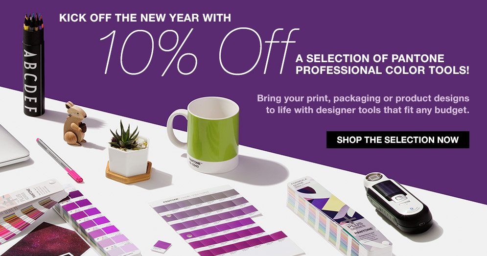 10 % Off a selection of Pantone professional color tools